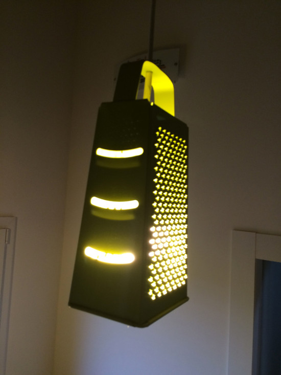 IKEA IDEALISK grater kitchen lamp