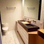 Godmorgon de contreplaqué de bambou pour un meuble de salle de bain moderne