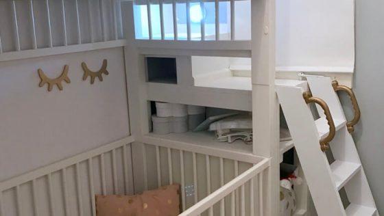 Des lits d'enfants superposés à partir des lits bébé IKEA GULLIVER