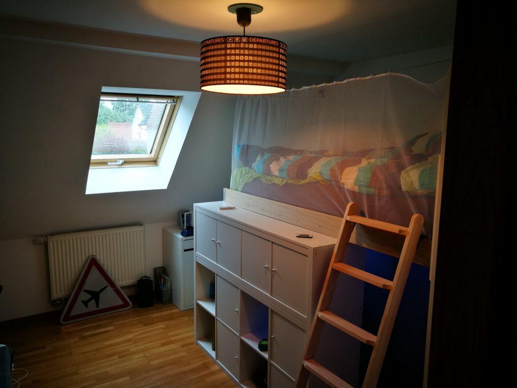 Leroy Merlin Chambre Enfant une chambre d'enfant avec kallax