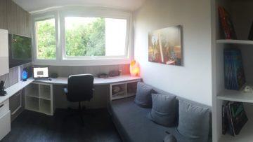 Un petit bureau peu encombrant tout en style