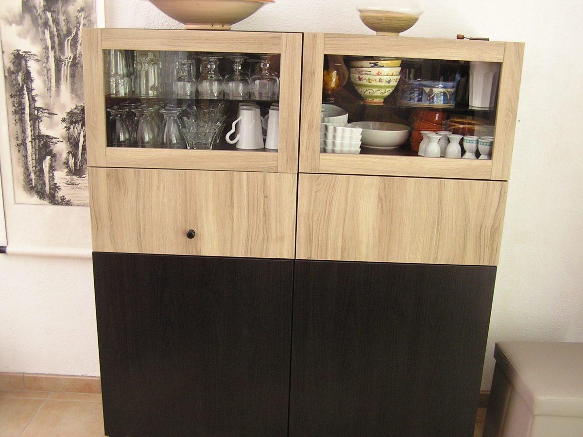 Un buffet avec best bidouilles ikea for Ikea buffet salle a manger