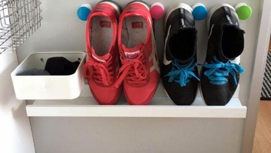 Un meuble à chaussures idéal pour les petits espaces
