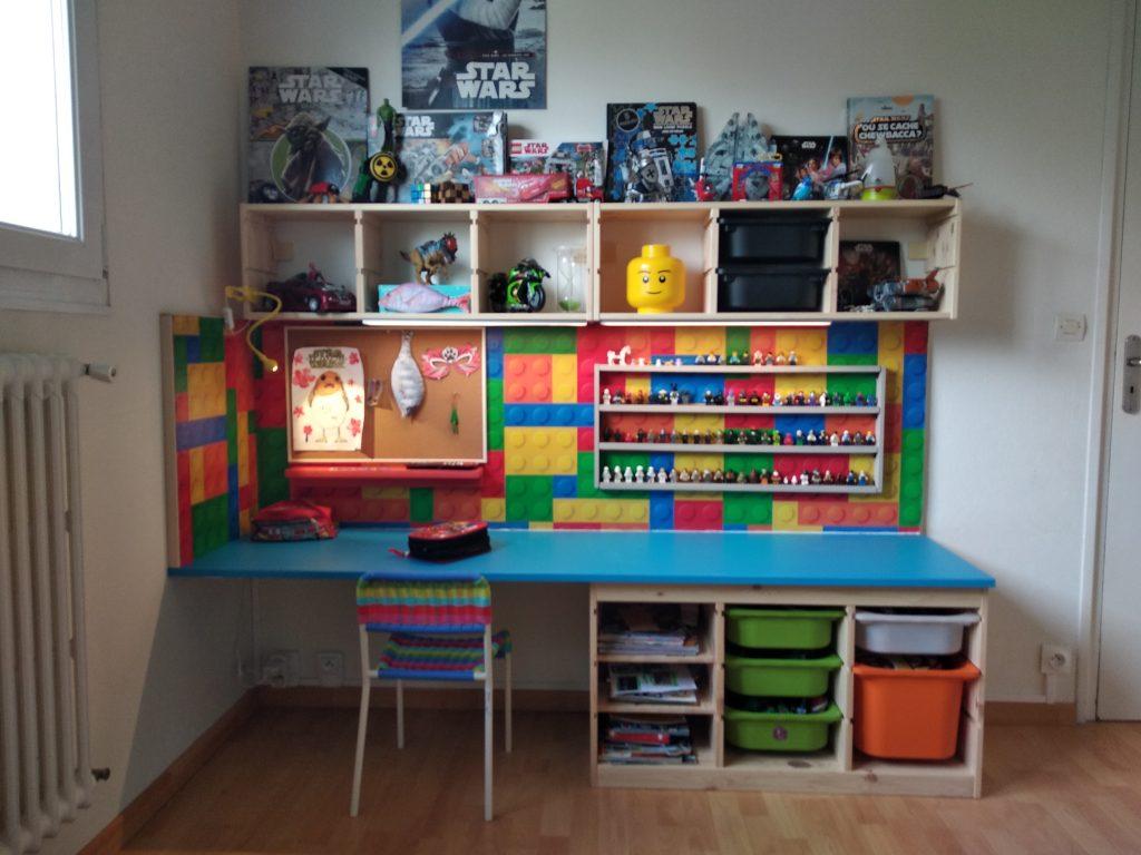 Fabriquer Un Bureau De Travail un bureau d'enfant diy avec trofast