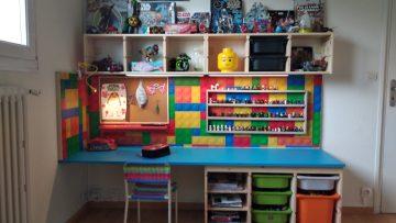Un bureau d'enfant DIY avec TROFAST
