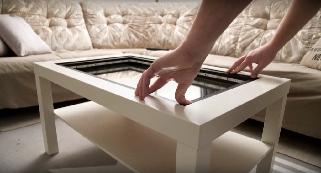 Transform an IKEA table into an Infinity Mirror Coffee Table