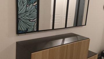 Un meuble d'entrée IKEA digne d'un créateur