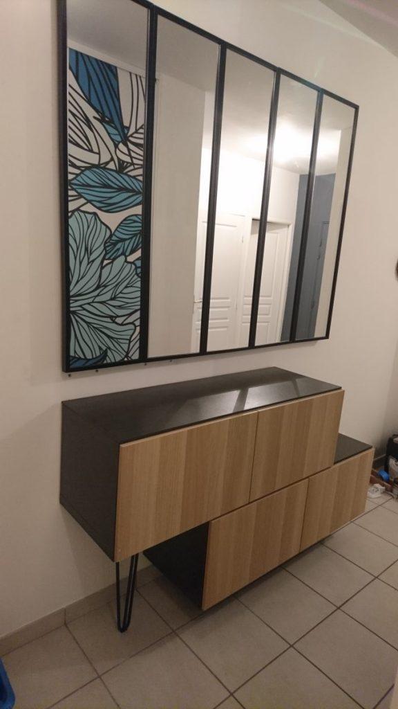 un meuble d 39 entr e ikea digne d 39 un cr ateur. Black Bedroom Furniture Sets. Home Design Ideas