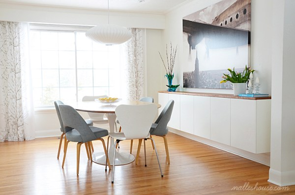 id es d co et diy salle manger ikea bidouilles ikea. Black Bedroom Furniture Sets. Home Design Ideas