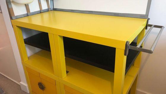 Une table à langer à fabriquer à la maison, pas cher mais du plus bel effet!