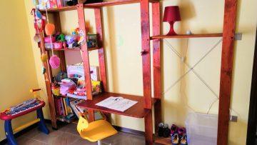 Un bureau pour enfant réglable en hauteur: il grandit avec vous!