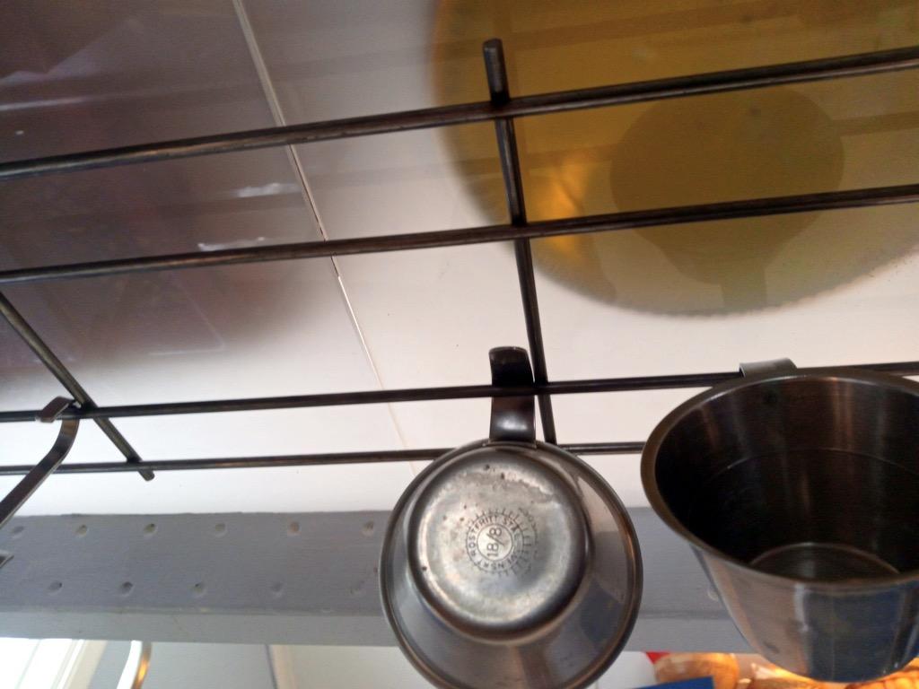 IKEA suspended shelves for kitchens