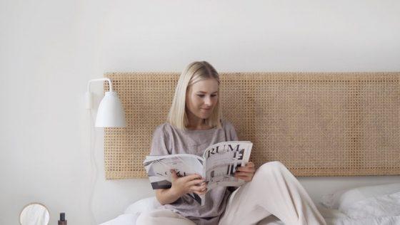 Fabriquez une tête de lit en rotin élégante en quelques heures!