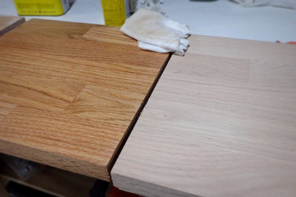 after tung oil treatment