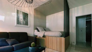 Un lit estrade Ikea pour un 29m2