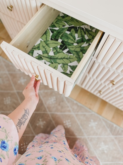 wallpaper drawer liner